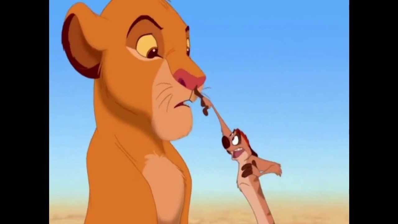 Uncategorized Lion King Timon fandub ready scene the lion king timon and pumbaa save simba youtube