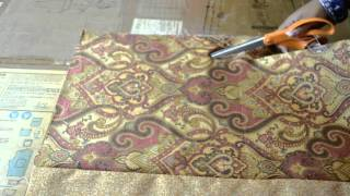 Sewing Tutorial: Table Runner With Border
