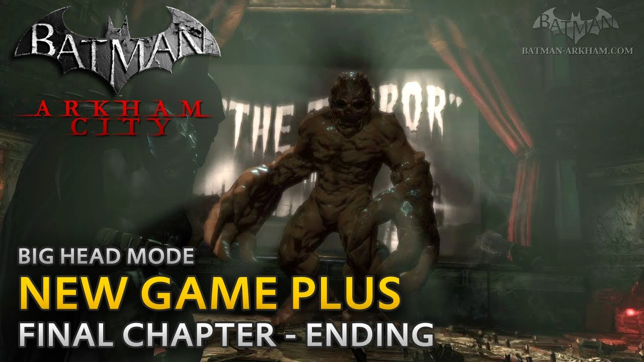 What Is Arkham City New Game Plus
