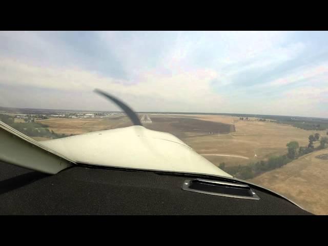 Landing Chico Airport