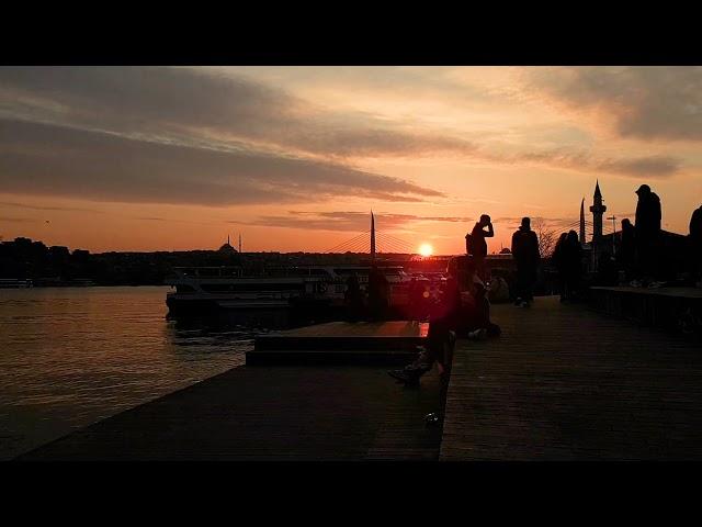Haliç'te gün batımı / Sunset in Golden Horn, Türkiye