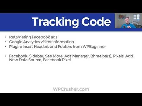 Add A Facebook Pixel & Google Analytics Code (Header And Footer) To WordPress 2019