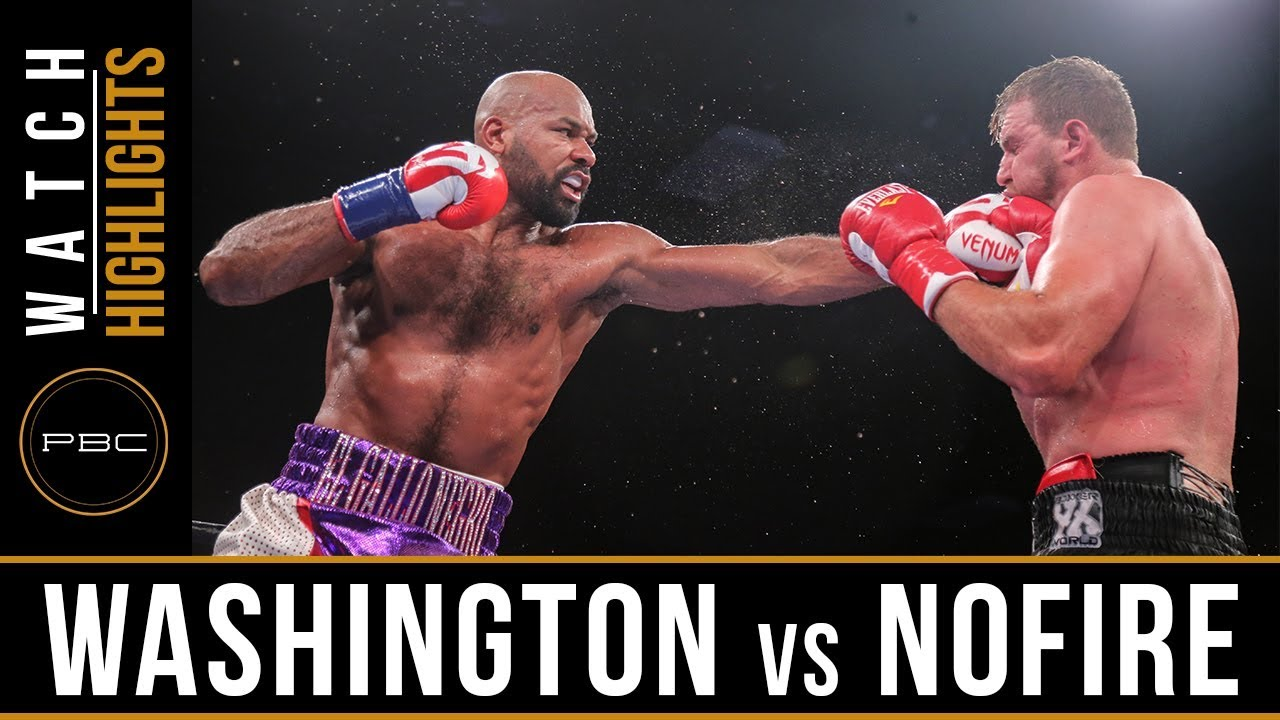 Washington vs Nofire Highlights: June 10, 2018 -  PBC on FS1
