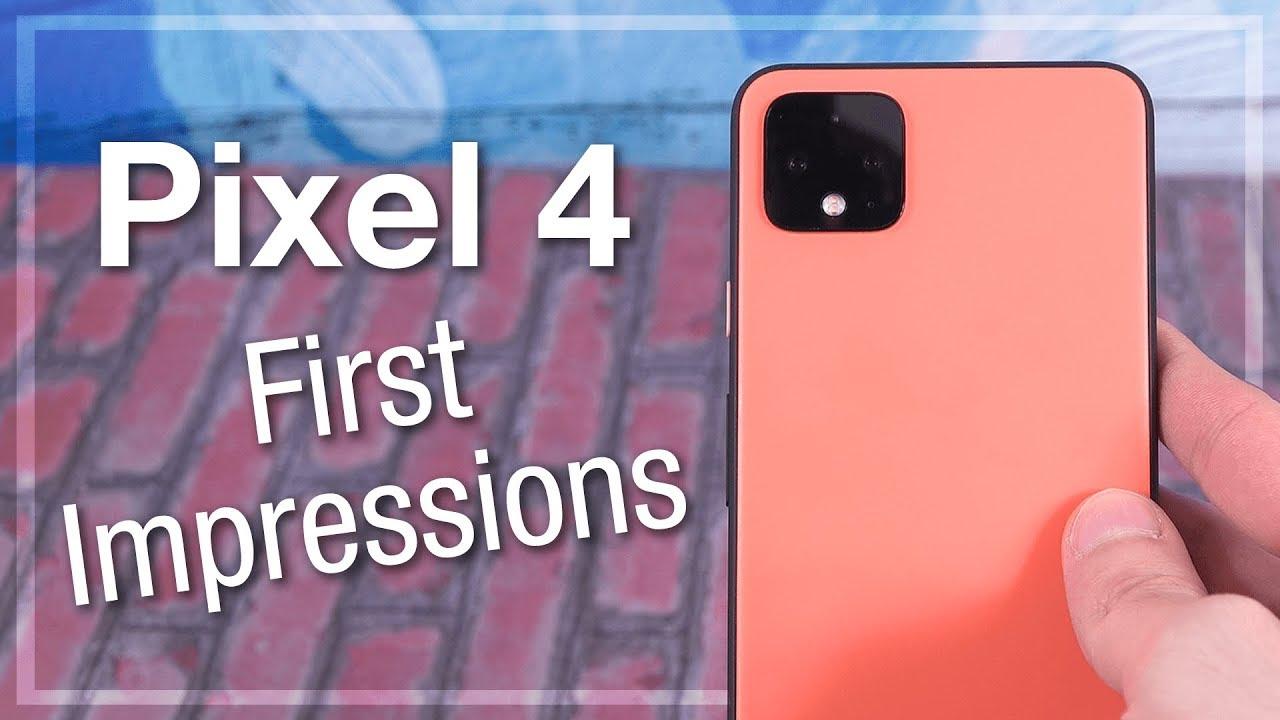 Pixel 4 - Primeras impresiones: HMMMMM 🤔 + vídeo