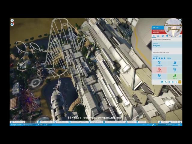 Let's Play Planet-Coaster | Vorstellung: Starlight Coaster 2/2 | Folge #014