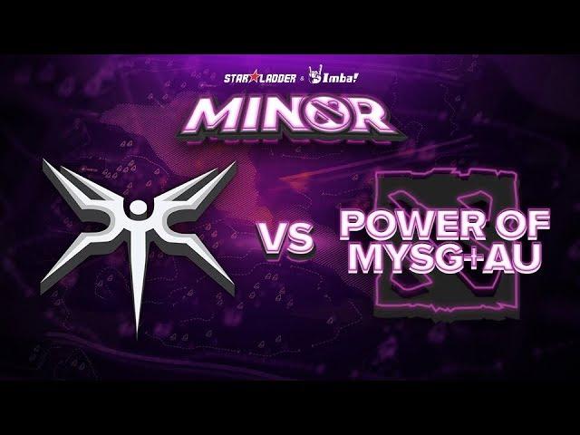 Mineski vs PMYSGAU Game 1 - SL ImbaTV Minor SEA Qualifier: Grand Finals