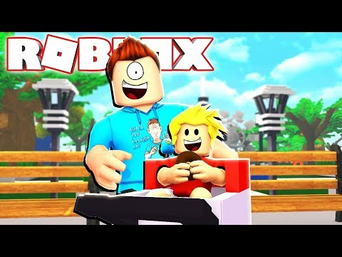Baby Alan Just Wants a DONUT! Roblox MeepCity RolePlay