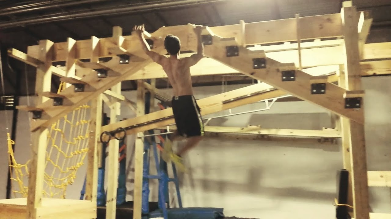American ninja warrior training session crossfit lilburn