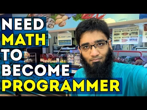 Do You Need Maths to Become a Programmer ?