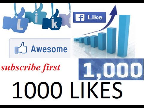 How to get More Likes On Facebook Profile Picture 2016 100% work Guarantee - YouTube