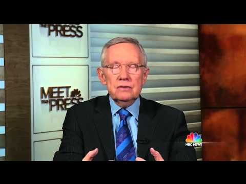 Meet The Press confronts Harry Reid with past hypocritical postures on Supreme Court nominations