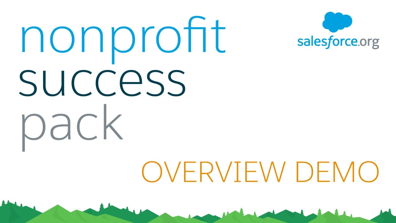 Nonprofit Success Pack (NPSP) for Salesforce - Demo