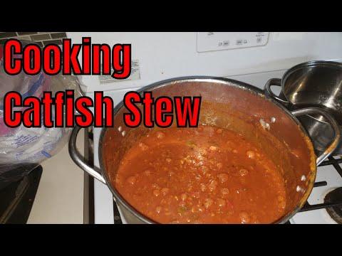 Cooking Catfish Stew