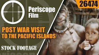 This stunning color film of the PACIFIC ISLANDS OF WWII features fo...