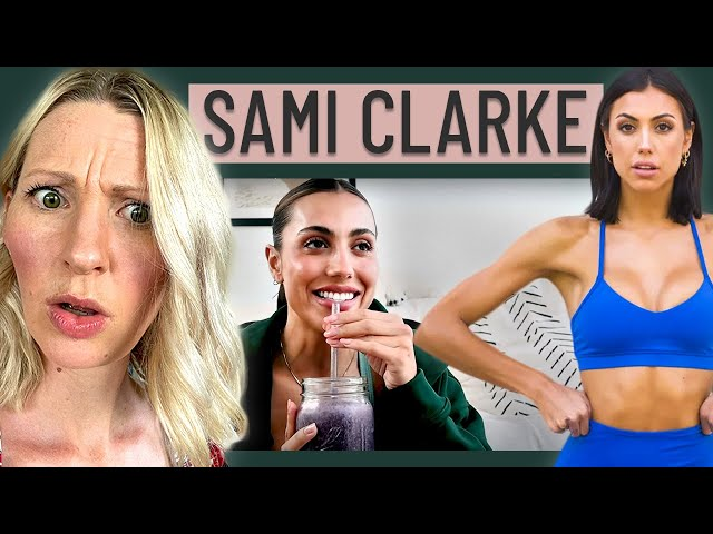 Dietitian Reacts to Sami Clarke's What I Eat in a Day (I'm Going to be BRUTALLY Honest…)