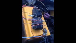 Проверка работоспособности корректора фар на Венто