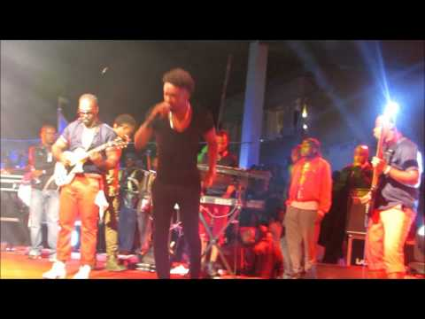 official Chris Martin performs 'let her go' at 'Together as one, Chris Martin show' Zimbabwe