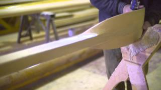 COLLARS - Cornish Gig Oar - The finest hand made wooden oars.