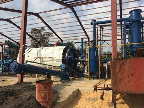 Waste Tyre Pyrolysis Plant - Tire Pyrolysis Process