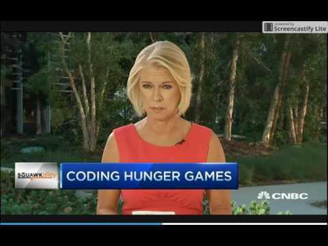 HackerRank on CNBC