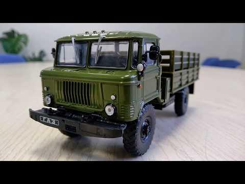 видео: Автолегенды СССР. Грузовики №40 - ГАЗ-66-40