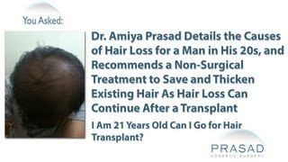 How to Stop Male Pattern Hair Loss at an Early Age without Surgery
