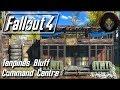 Fallout 4 | TENPINES BLUFF SETTLEMENT - Command Centre [Building a Fort]