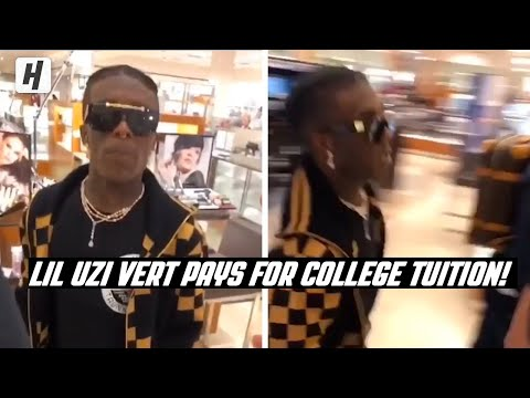 Lil Uzi Vert Pays For Student's 90K Tuition!