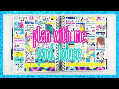 Plan With Me ♡ Pool House (Scribble Prints Co.)