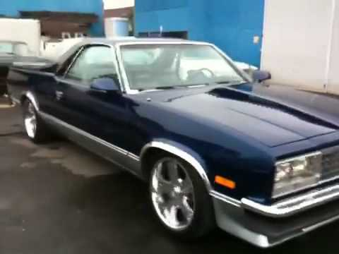 1986 Chevy EL CAMINO  YouTube