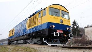 Lokomotiva řady 759 - Kyklopova první jízda