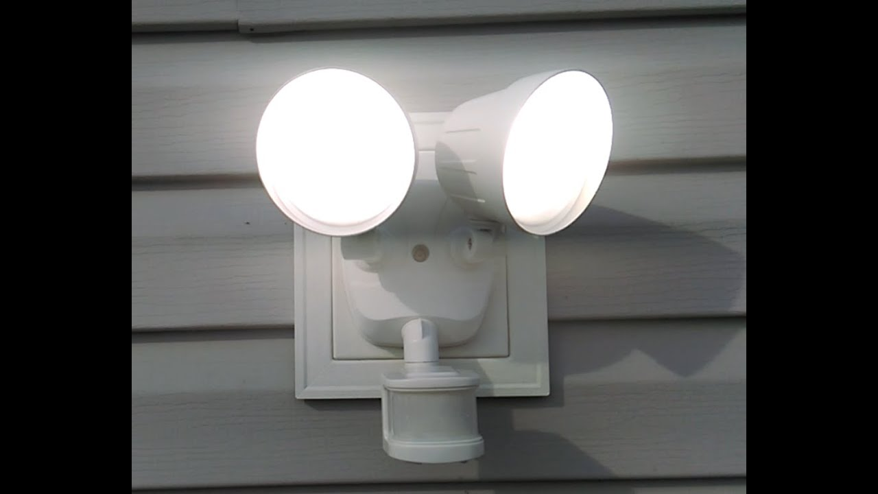 outdoor security light installation pros in south carolina