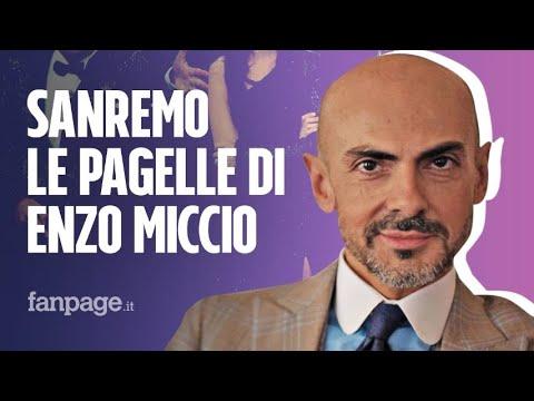 Sanremo, i top e flop di Enzo Miccio: Ok Tatangelo, No a Ultimo