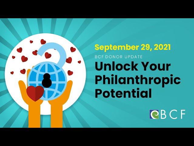 Unlock Your  Philanthropic Potential