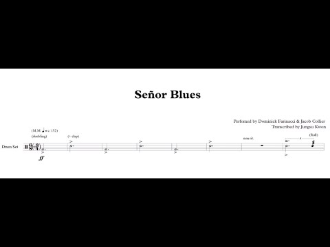 Señor Blues (feat. Jacob Collier) Transcription (excerpt)