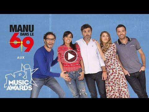 Le Live de Manu dans le 6/9 sur NRJ en direct de Cannes