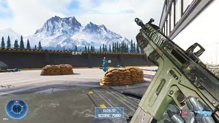 Halo Infinite - Multiplayer Academy Weapon Drill Gameplay Overview