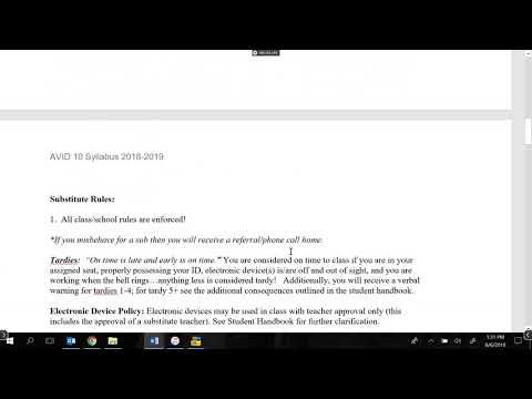 AVID 10 Syllabus mp4 - YouTube