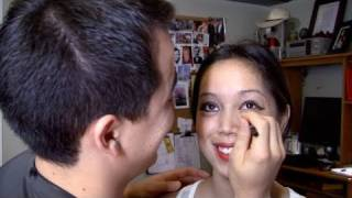 Benji Does My Makeup! (Boyfriend Does My Makeup Tag) -itsJudyTime