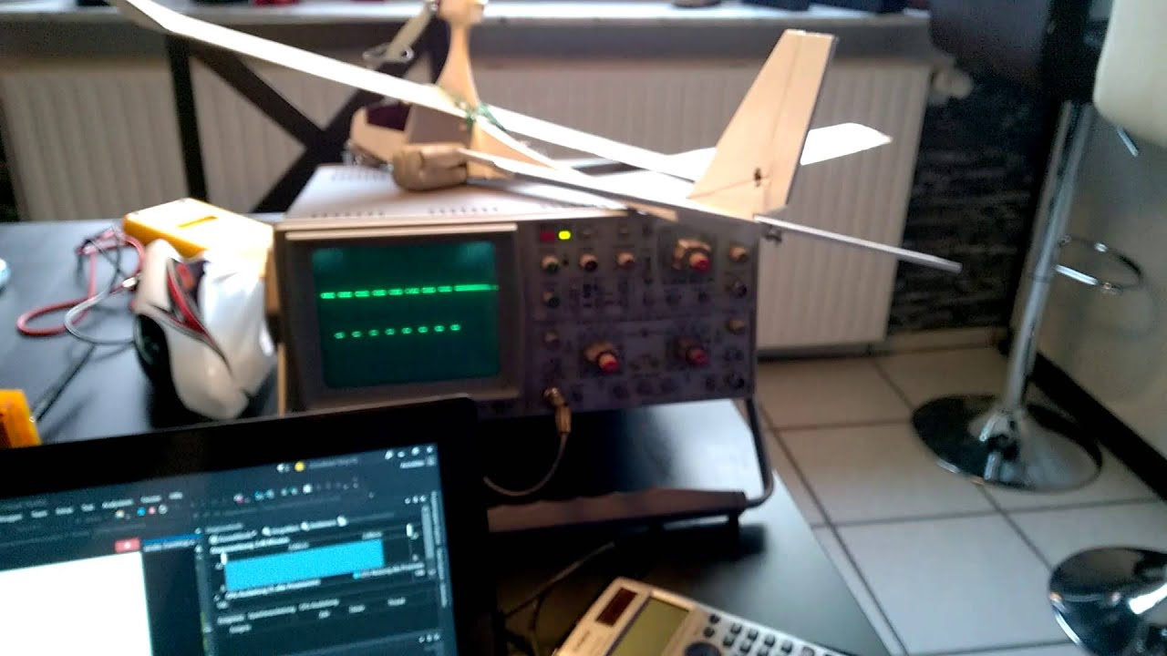 Rc plane controlled by arduino and xbox controller