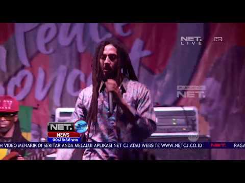 Untuk Pertama Kalinya, Julian Marley Menghibur Penggemar di Jakarta - NET24