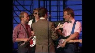 Dick Clark Interviews Men at Work - American Bandstand 1982