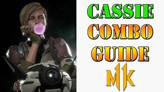 Mortal Kombat 11 - Cassie Cage combo guide
