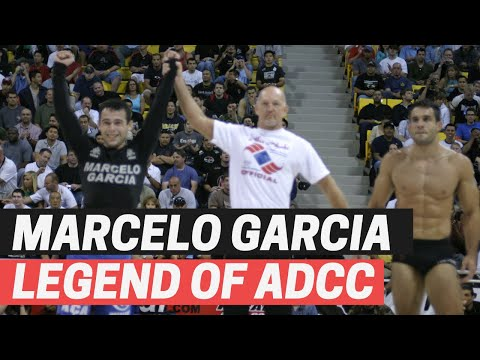 MARCELO GARCIA ADCC HISTORY VIDEO | Is Marcelo Garcia The GOAT Of ADCC?