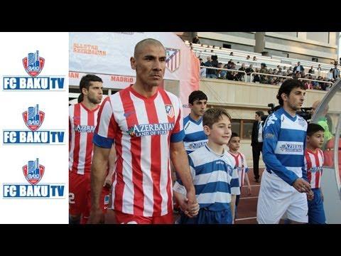 Yoldaşlıq oyunu: All Stars Azerbaijan 0:3 Atletiko Madrid