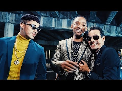 Making of Marc Anthony, Bad Bunny & Will Smith's Esta Rico