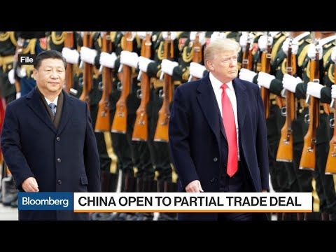 China Open to Reaching Small Trade Deal if Trump Eases Tariff Threats