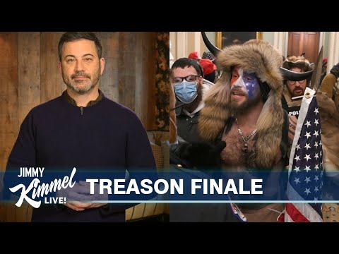 Jimmy Kimmel on Angry Trump Mob Storming the Capitol
