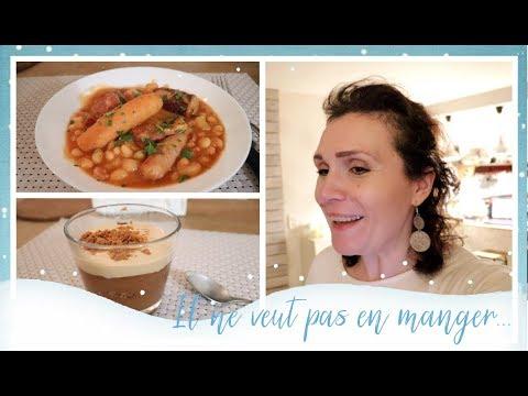 vlog-famille-du-07/02-il-veut-pas-en-manger-et-mousse-au-chocolat-spéculoos-et-du-cassoulet-du-nord