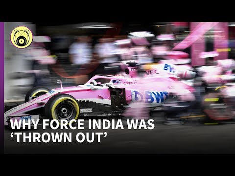 """Why Force India was """"thrown out"""" - Chainbear explains"""